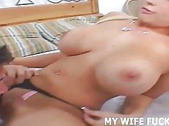 あなたの妻を見てポルノ撮影の星