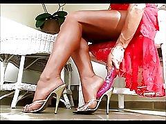 女神 bymonique の足